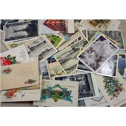 LARGE LOT OF APPROX.100+ VINTAGE POSTCARDS - Incl.