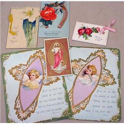 LOT OF VINTAGE MISCELLANEOUS PAPER - INCL. RELIGIO