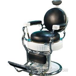 Round Seat, Round Back Koken Barber Chair