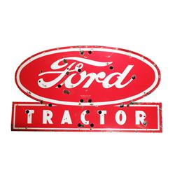 Ford Tractor Porcelain Sign