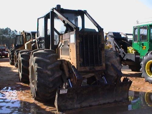CAT 518 GRAPPLE SKIDDER