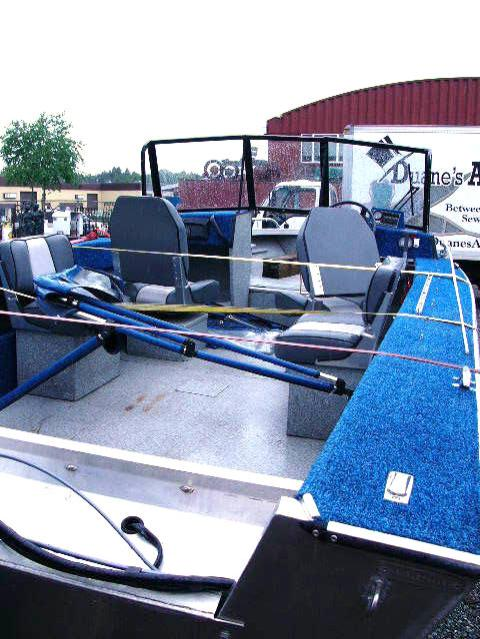 1994 19 foot Aluminum River Runner Hewes Craft with 90 HP Yamaha Jet Drive