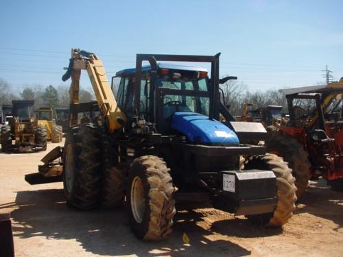 NEW HOLLAND TS110 FARM TRACTOR