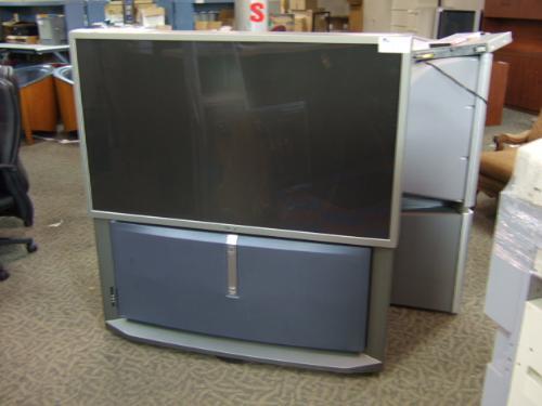 Sony 57 U0026quot  Widescreen Rear Projection Tv