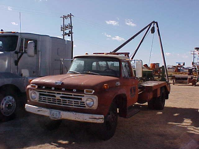 1966 Ford F600 Winch Truck  19 210 Actual Miles