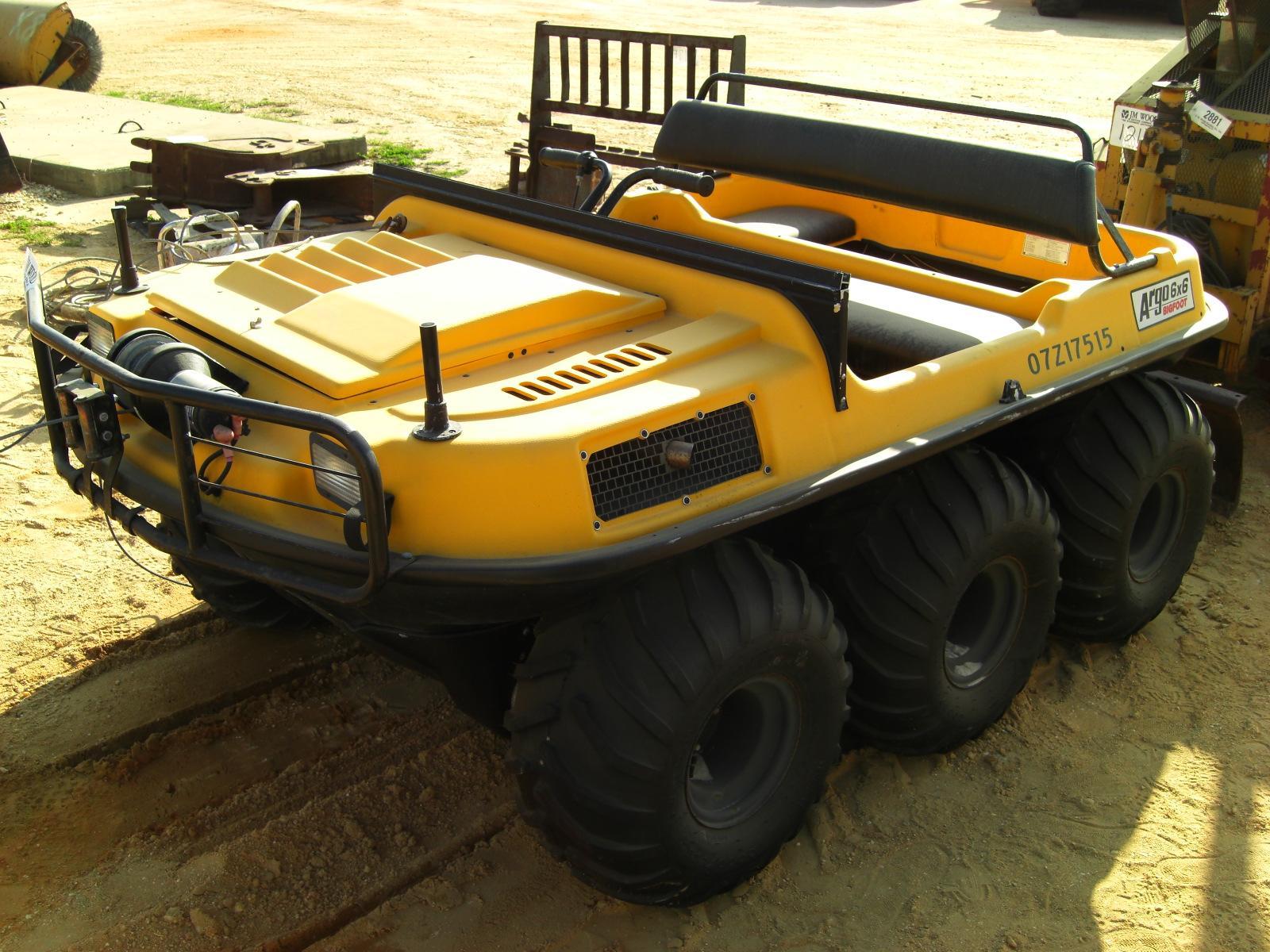 ARGO 6X6 BIGFOOT AMPHIBIOUS ATV