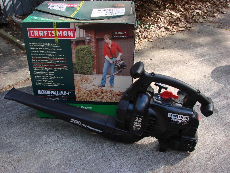 Craftsman Gas Powered Blower/Vac