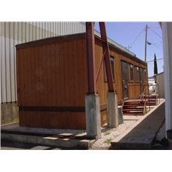 42' X 12' Modular office building, furnished - Good condition