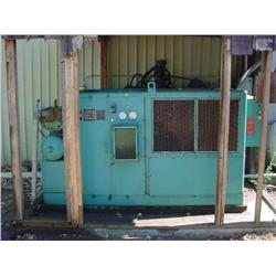 Jaeger two stage rotary air compressor - Includes air dryer and pressure tank