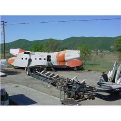 Albatross HU16 / CSR 101 transport trailer - Lowboy, includes factory spec lifting sling for albatro