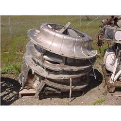 Assorted dishpan & engine mounts