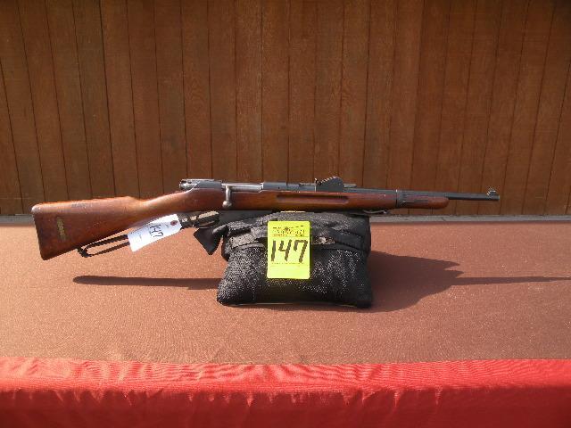Dutch Mannlicher model 1895 carbine 6 5 mm
