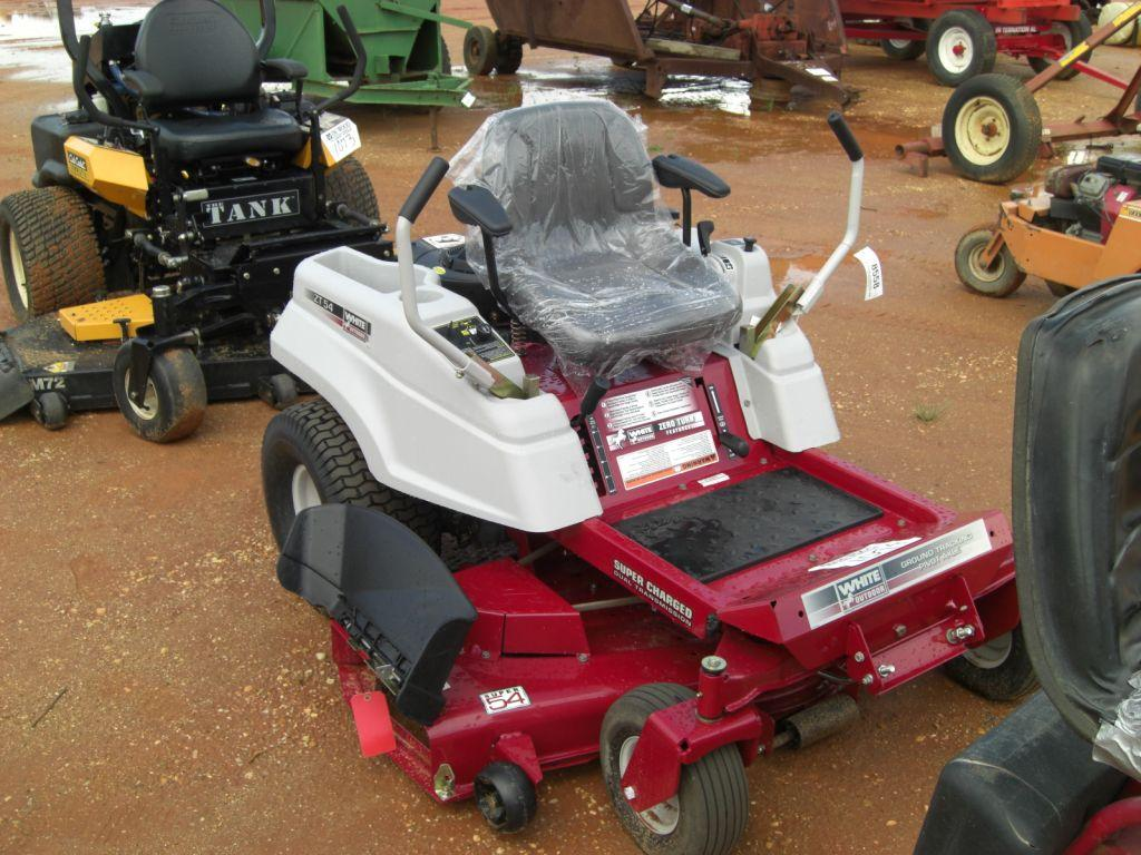 White Zt54 Zero Turn Mower