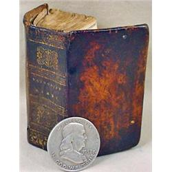 1834 MINIATURE BOOK OF METHODIST HYMNS - Condition