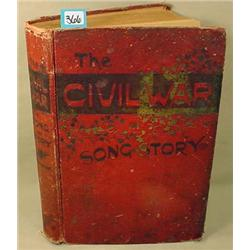 "1889 ""THE CIVIL WAR IN SONG AND STORY"" HARDCOVER B"