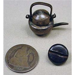 VERY RARE CIVIL WAR P.O.W. HANDMADE MINIATURE TEA