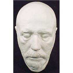 ROBERT E. LEE LIFE MASK - 2ND GENERATION - Marked