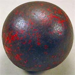"CIVIL WAR ERA CANNON BALL - APPROX. 7.75"" AROUND"