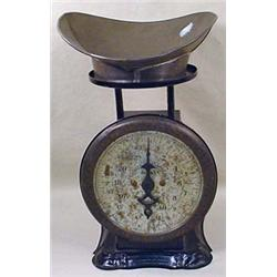 "CIVIL WAR ERA STORE COUNTER SCALE - Marked ""Pelouz"