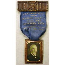 CIVIL WAR VETERANS ASSN. MEMBERS MEDAL - Dated 191
