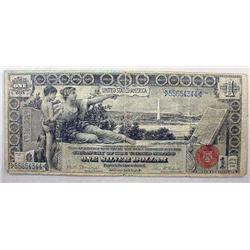 1896 1 DOLLAR SILVER CERTIFICATE - LARGE