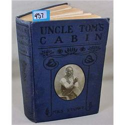 "EARLY ""UNCLE TOM'S CABIN"" HARDCOVER BOOK - UNDATED"