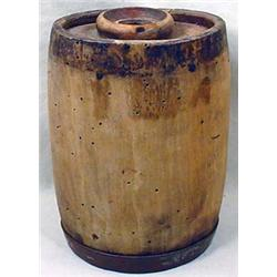 CIVIL WAR ERA WOODEN CONTAINER MARKED 10215 - Appr