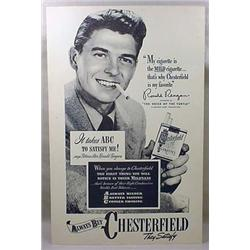C. 1940'S CHESTERFIELD CIGARETTES ADVERTISING STOR