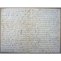 1863 CIVIL WAR ERA LETTER FROM A SOLDIER TO HIS MO