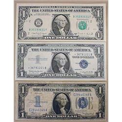 LOT OF U.S. CURRENCY - 1988-A 1 Dollar Federal Res