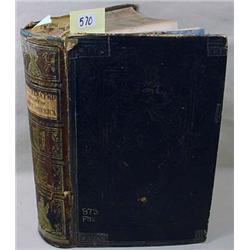 "1862 ""ILLUMINATED HISTORY OF NORTH AMERICA"" HARDCO"