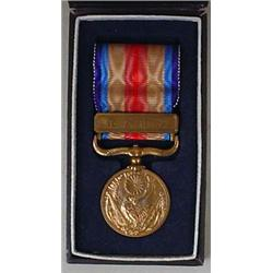 EARLY JAPANESE MILITARY MEDAL IN ORIGINAL CASE