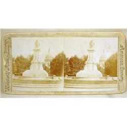 EARLY STEREOVIEW CARD PHOTO OF AMERICAN SCENERY BY