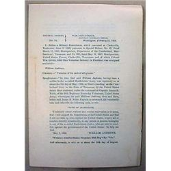 CIVIL WAR RELATED VINTAGE PAMPHLET ON CONFEDERATE