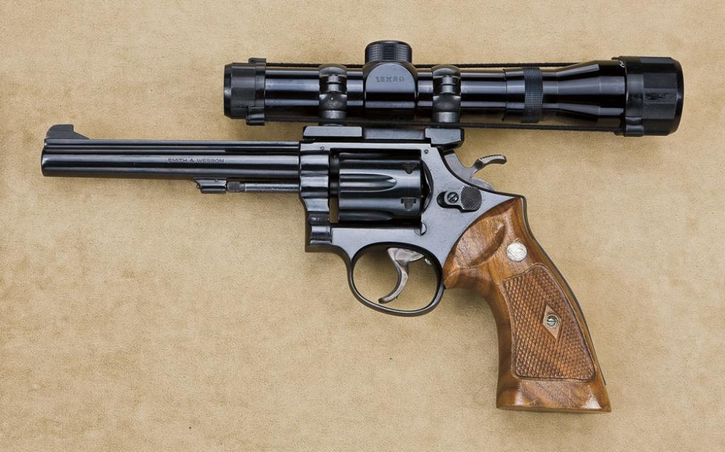 Lot 469 (9HP-138) Smith & Wesson model 17-2,  22 long rifle