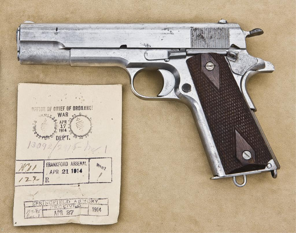 Colt 1911 Early Prototypes