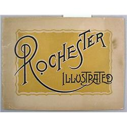 EARLY 1900'S ROCHESTER, NY ILLUSTRATED SOUVENIR BO
