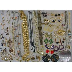 LARGE LOT OF COSTUME JEWELRY - Incl. Necklaces, Ea