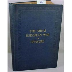 "1916 ""THE GREAT EUROPEAN WAR IN GRAVURE"" HARDCOVER"
