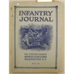 1917 U.S. INFANTRY JOURNAL BOOK - Approx. 77 pages