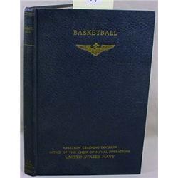 WW2 1943 US NAVY BASKETBALL TRAINING MANUAL