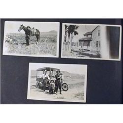 C. 1930'S PHOTO ALBUM W/ APPROX. 300+ PHOTOS - Inc