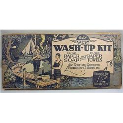 C. 1920'S BAY WEST WASH-UP KIT FOR CAMPERS AND HIK