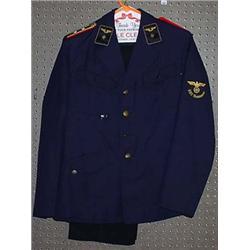 WW2 GERMAN NAZI RAILROAD SUIT - Jacket and Pants