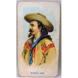 1910 E49 BUFFALO BILL CODY WILD WEST CARAMEL CARD