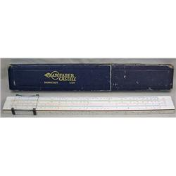 WW2 ERA AW FABER CASTELL GERMAN SLIDE RULE IN CASE
