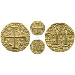 Lima, Peru, cob 4 escudos, 1711M, choice specimen from the 1715 Fleet, ex-Frank Sedwick collection,