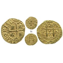 Lima, Peru, cob 2 escudo, 1708H, from the 1715 Fleet.