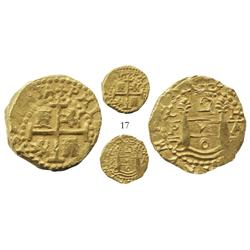 Lima, Peru, cob 2 escudos, 170?H, from the 1715 Fleet.