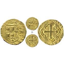 Bogota, Colombia, cob 4 escudos, Ferdinand VI, assayer S (style of 1749-53), choice.
